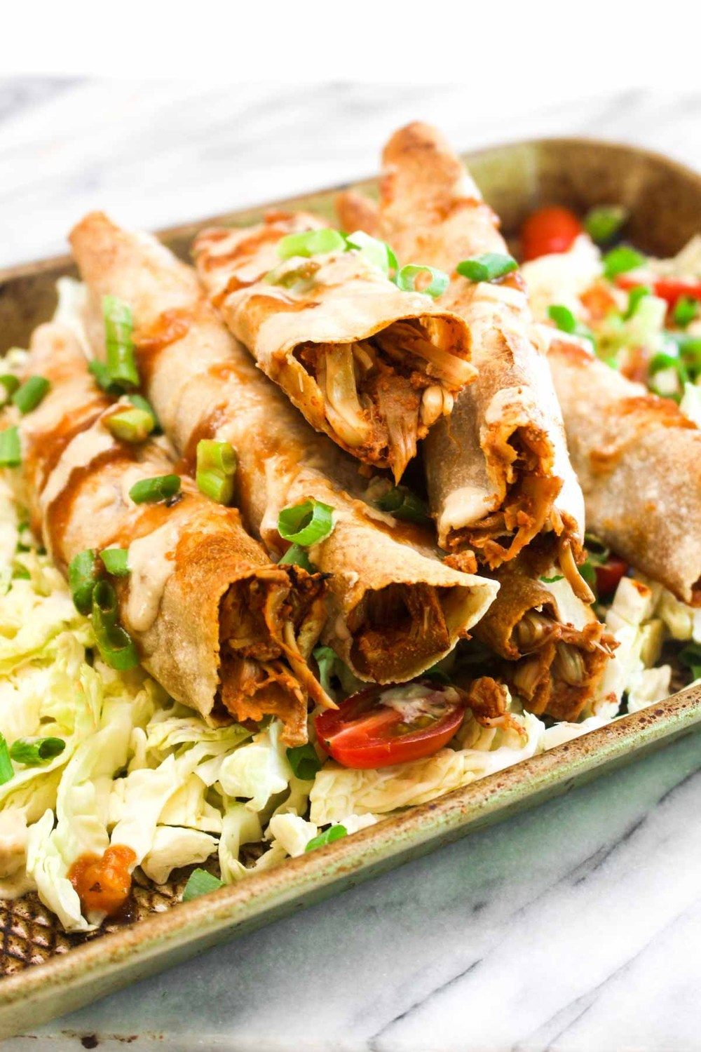 Jackfruit Taquitos Recipe | HeyFood — heyfoodapp.com