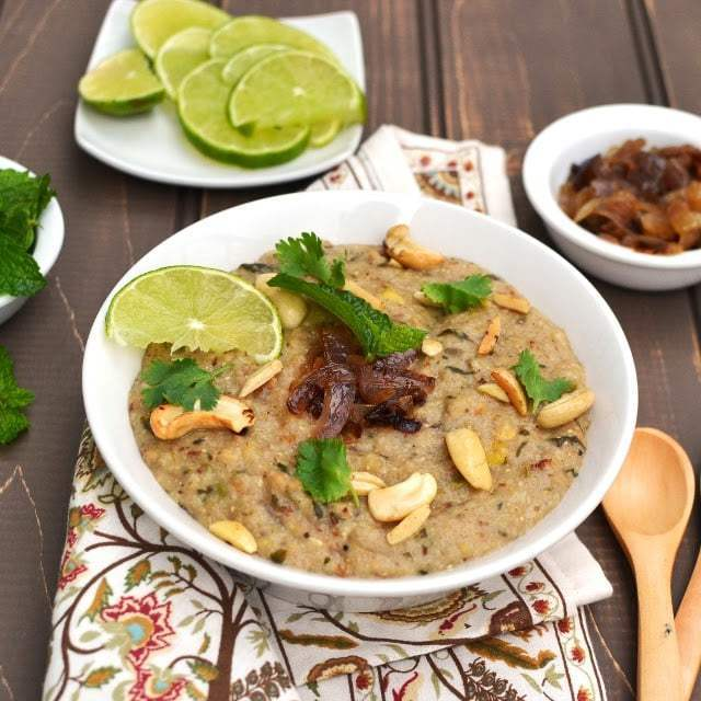 Vegetarian Haleem Recipe | HeyFood — heyfoodapp.com