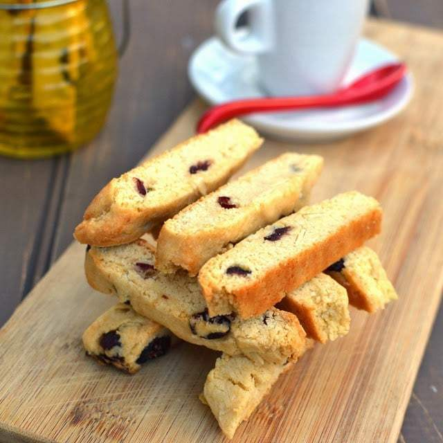 Almond-Cranberry Biscotti Recipe | HeyFood — heyfoodapp.com