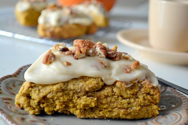 Pumpkin Scones Recipe | HeyFood — heyfoodapp.com