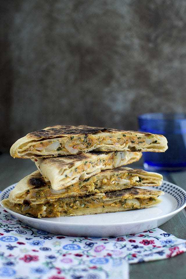 Cheese & Potato Gözleme Recipe | HeyFood — heyfoodapp.com