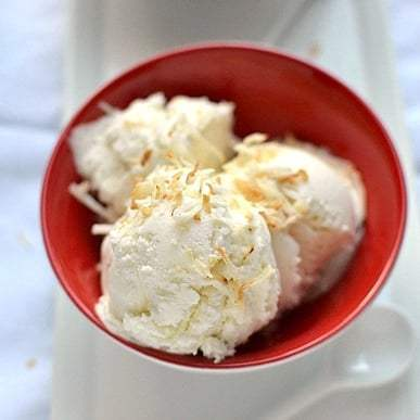 Coconut Ice Cream Recipe   HeyFood — heyfoodapp.com