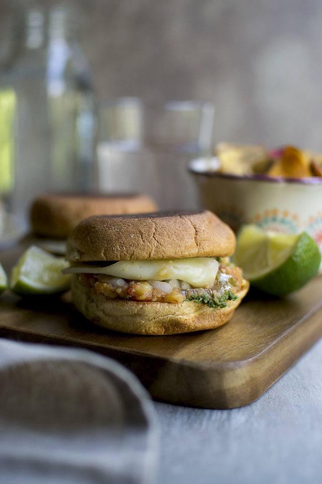 Cheese Pav Bhaji Sandwich Recipe   HeyFood — heyfoodapp.com