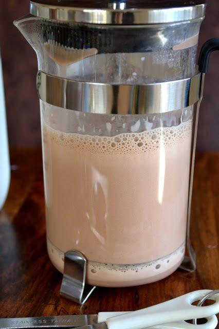 French Press Breakfast Chocolate Recipe | HeyFood — heyfoodapp.com