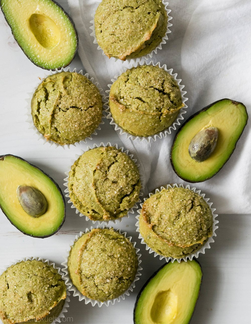 Avocado Muffins Recipe | HeyFood — heyfoodapp.com