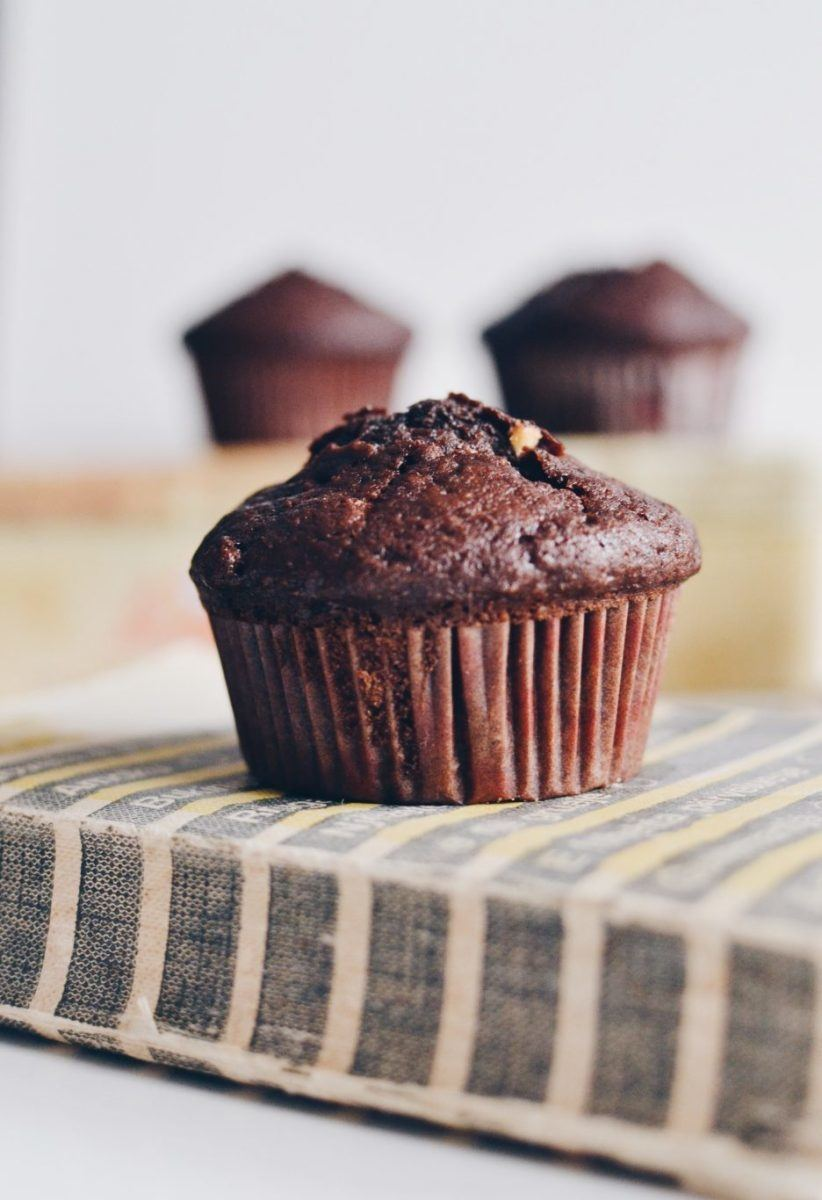 Double chocolate rye muffins Recipe | HeyFood — heyfoodapp.com