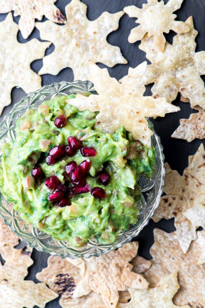 Snowflake Pita Chips Recipe | HeyFood — heyfoodapp.com