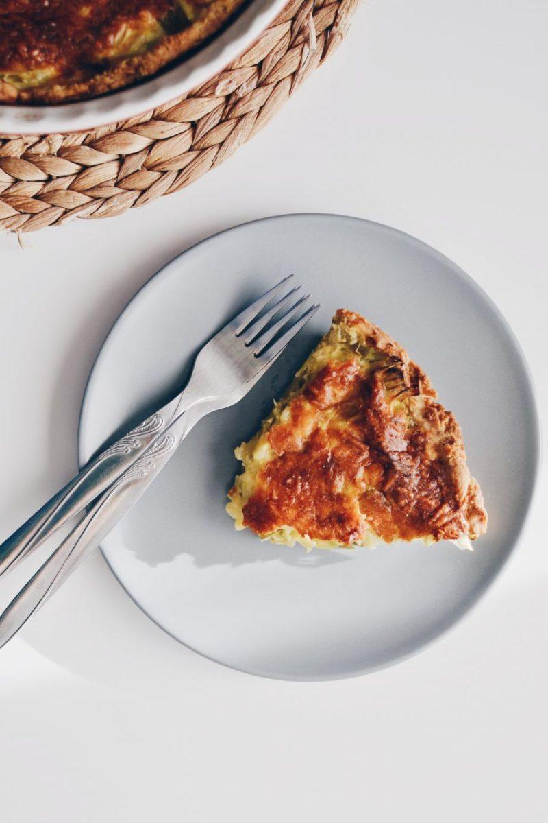 Leek quiche Recipe | HeyFood — heyfoodapp.com