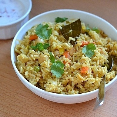 Chickpeas & Vegetable Rice Recipe | HeyFood — heyfoodapp.com