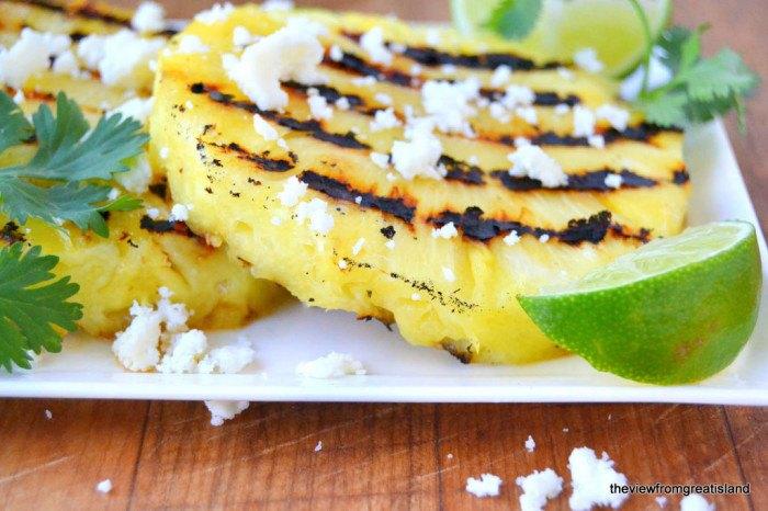 Grilled Pineapple Salad Recipe | HeyFood — heyfoodapp.com