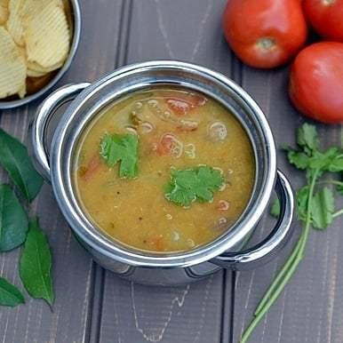 Masoor Dal Sambar Recipe | HeyFood — heyfoodapp.com