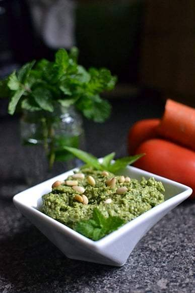 Broccoli Basil Pesto Recipe | HeyFood — heyfoodapp.com