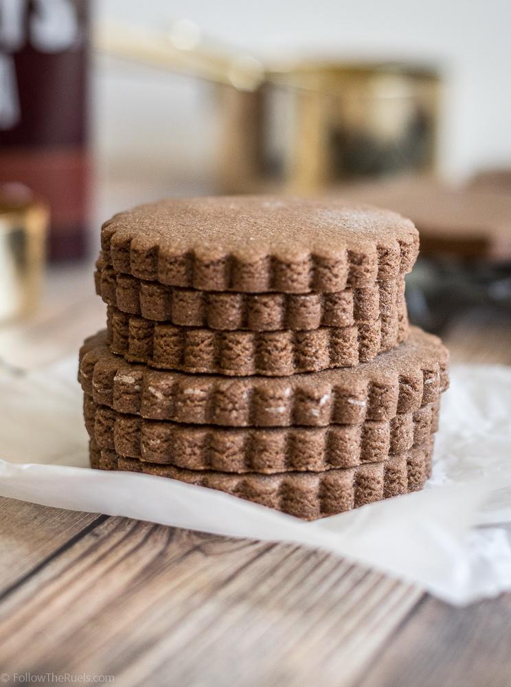Chocolate Sugar Cookies Recipe   HeyFood — heyfoodapp.com