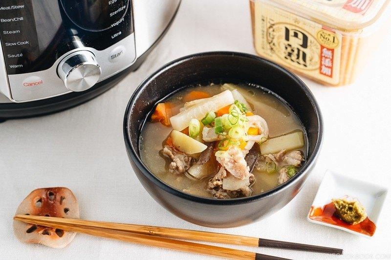 Instant Pot Tonjiru Recipe | HeyFood — heyfoodapp.com