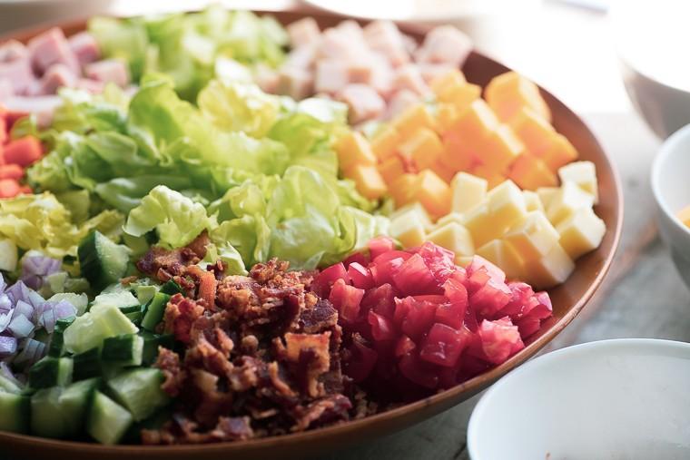 Chopped Chef Salad Recipe | HeyFood — heyfoodapp.com