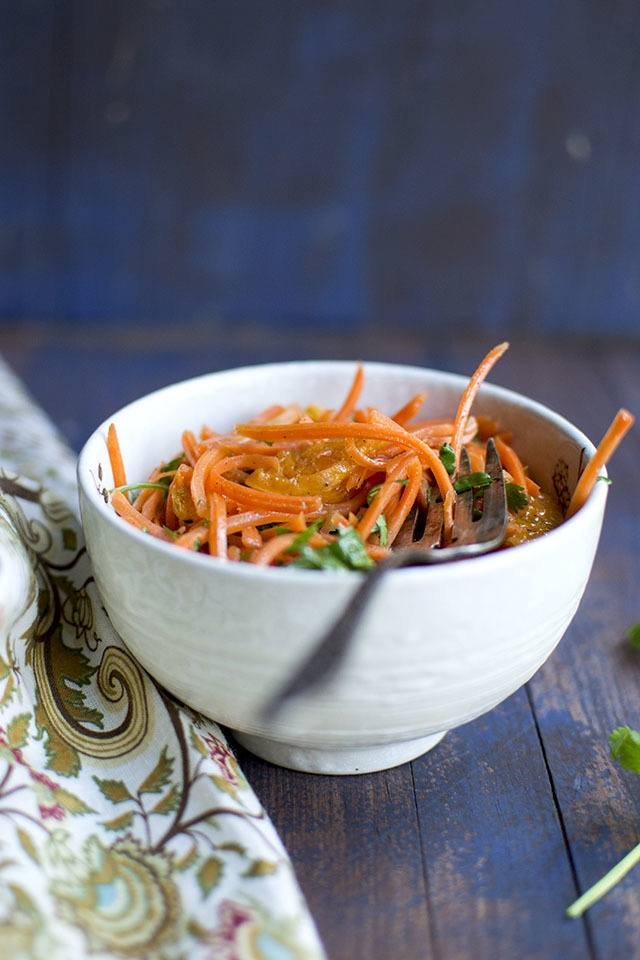 Moroccan Carrot Salad Recipe | HeyFood — heyfoodapp.com