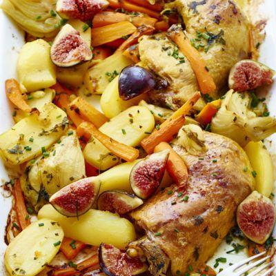 Cuisses De Poulet Et Pommes De Terre Au Four Recipe | HeyFood — heyfoodapp.com