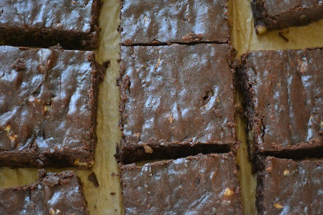 Zucchini Walnut Brownies Recipe | HeyFood — heyfoodapp.com