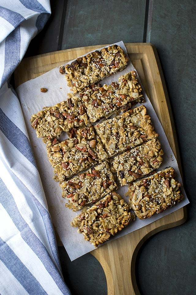Puffed Wheat, Almond & Coconut Granola Bars Recipe | HeyFood — heyfoodapp.com