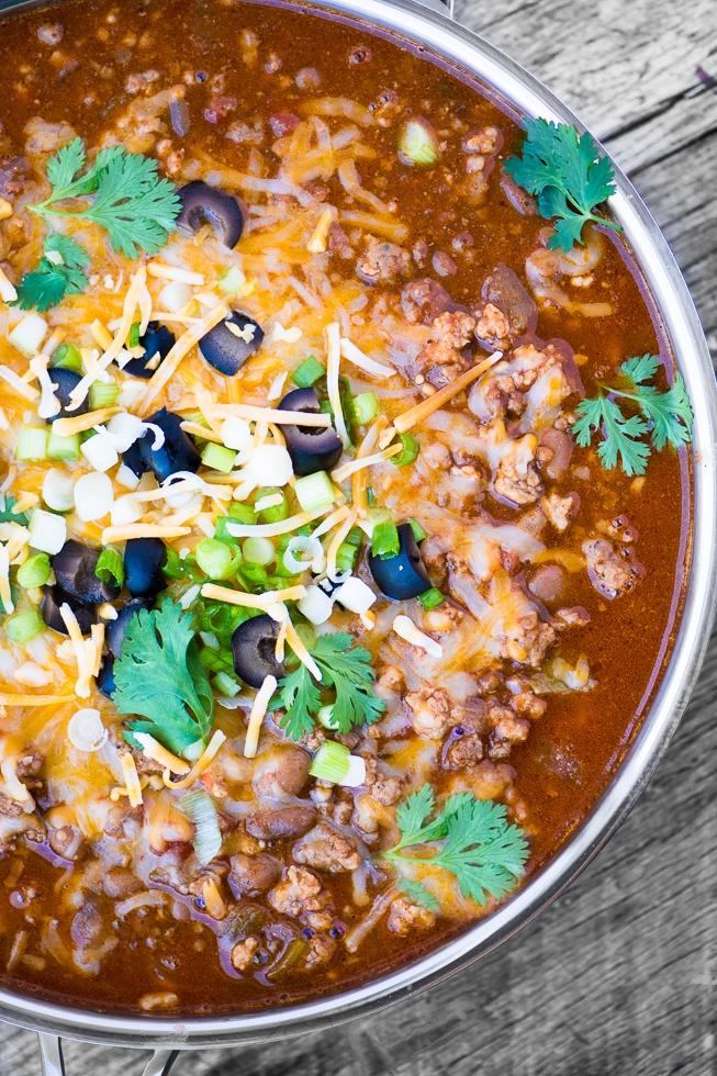 Meat Lovers Chili Recipe | HeyFood — heyfoodapp.com