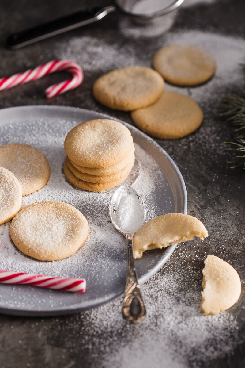 Almond Sugar Cookies Recipe   HeyFood — heyfoodapp.com
