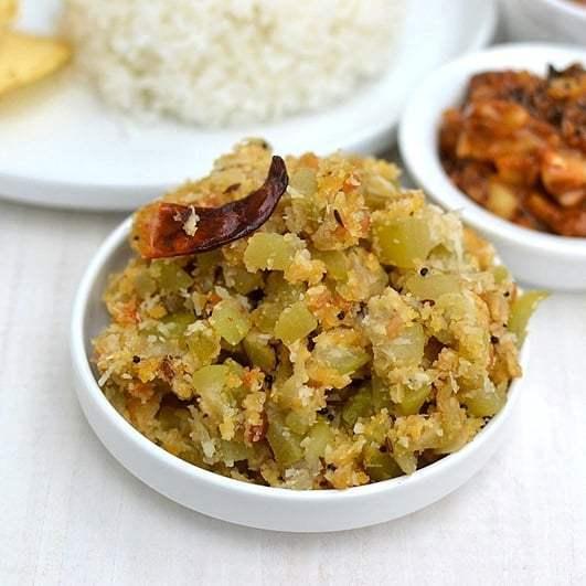 Sorakaya Pesarapappu Podi Kura Recipe | HeyFood — heyfoodapp.com