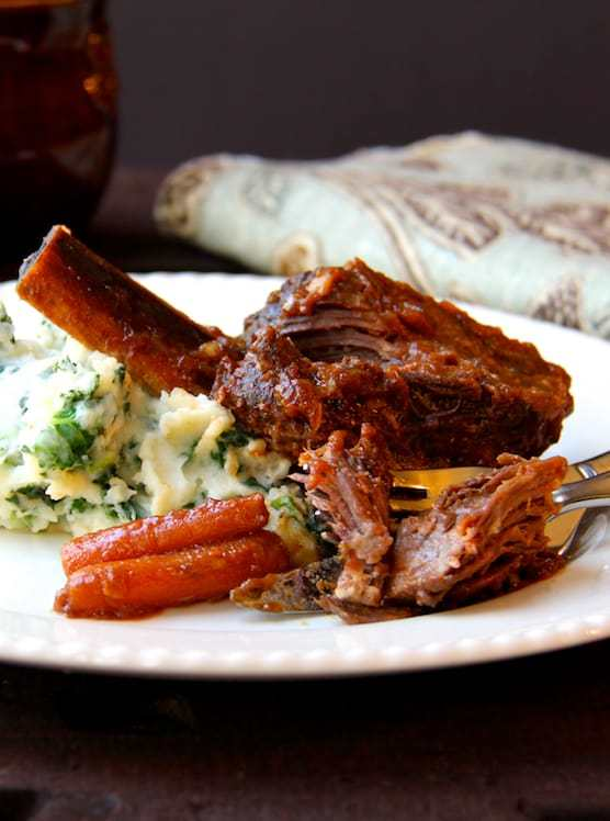 Stout Braised Beef Short Ribs and Colcannon Recipe | HeyFood — heyfoodapp.com