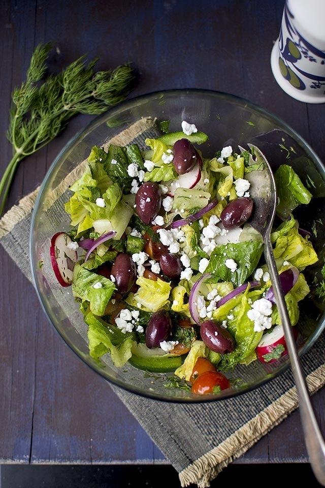 Greek Salad Recipe | HeyFood — heyfoodapp.com