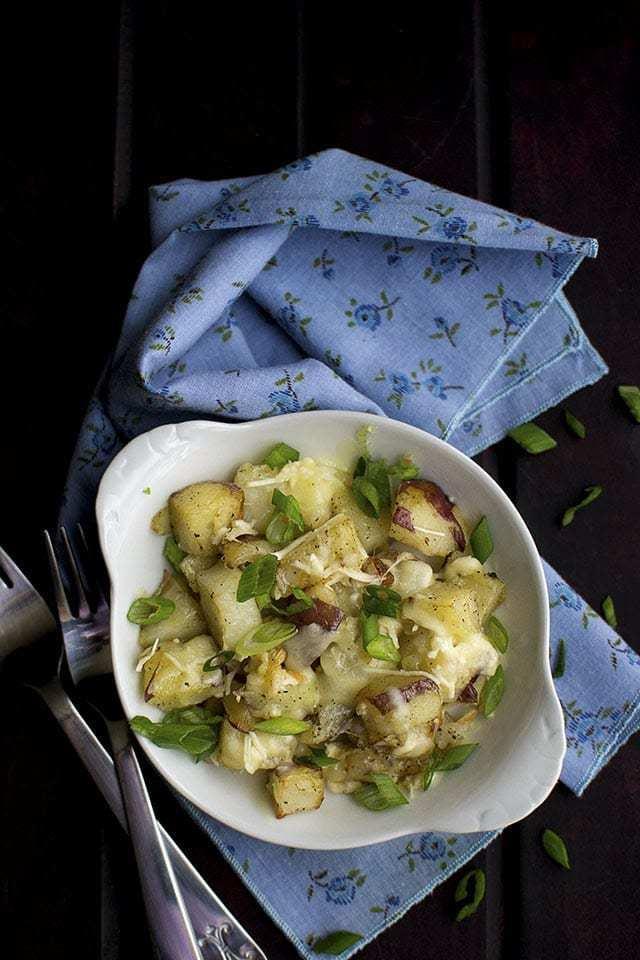 Three Cheese Potatoes Recipe | HeyFood — heyfoodapp.com