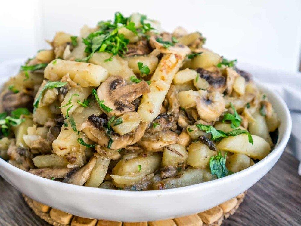 Potatoes and Mushrooms Recipe | HeyFood — heyfoodapp.com