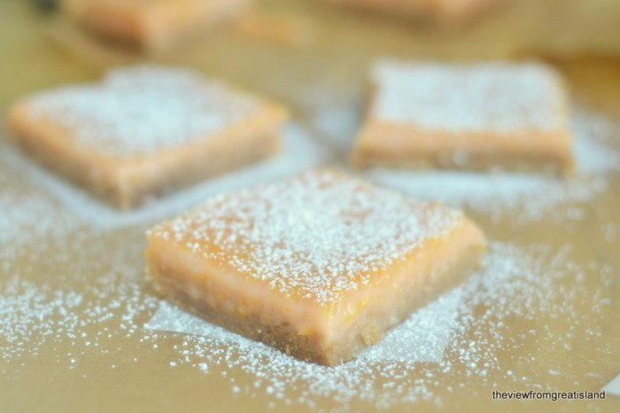 One Bowl Pink Grapefruit Bars Recipe | HeyFood — heyfoodapp.com