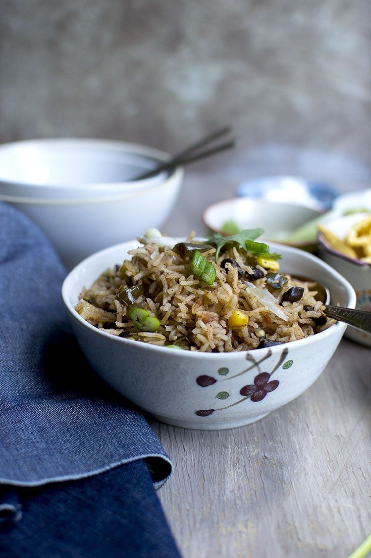 Instant Pot Rice & Beans Recipe Recipe | HeyFood — heyfoodapp.com