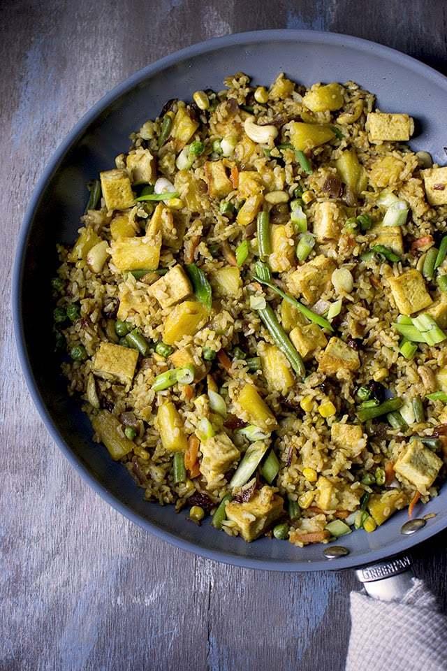 Thai Pineapple Fried Rice Recipe | HeyFood — heyfoodapp.com