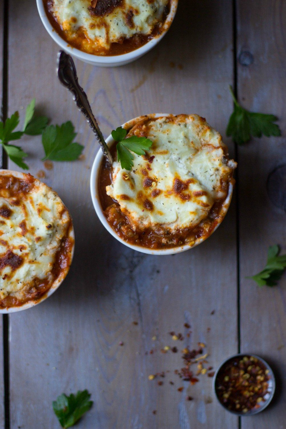 Cheesy Lasagna Soup Recipe | HeyFood — heyfoodapp.com