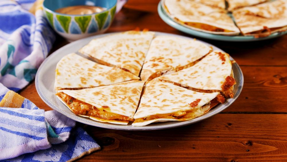 Copycat Taco Bell Quesadilla Recipe | HeyFood — heyfoodapp.com