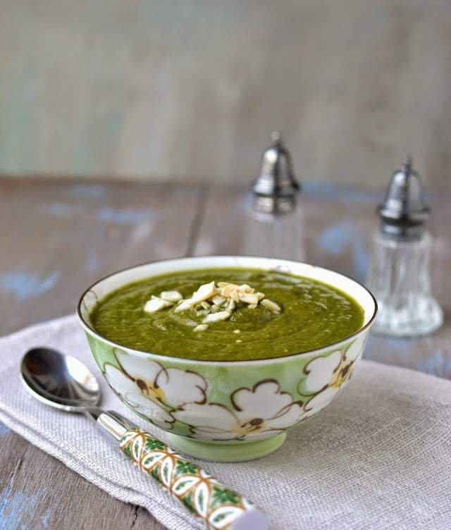 Palak Badam Shorba Recipe | HeyFood — heyfoodapp.com