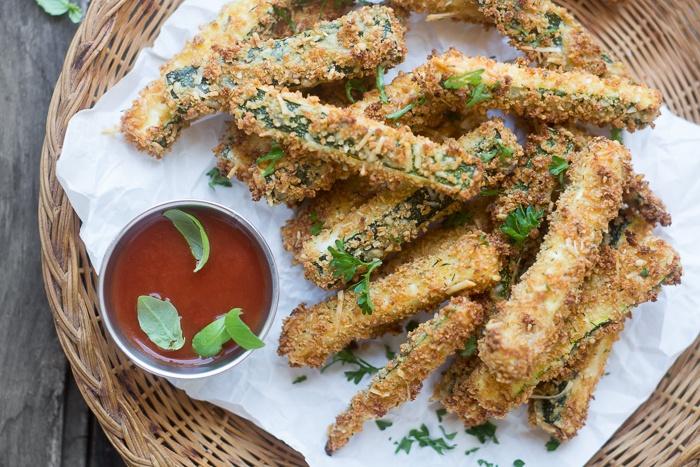 Healthy Zucchini Fries Recipe   HeyFood — heyfoodapp.com