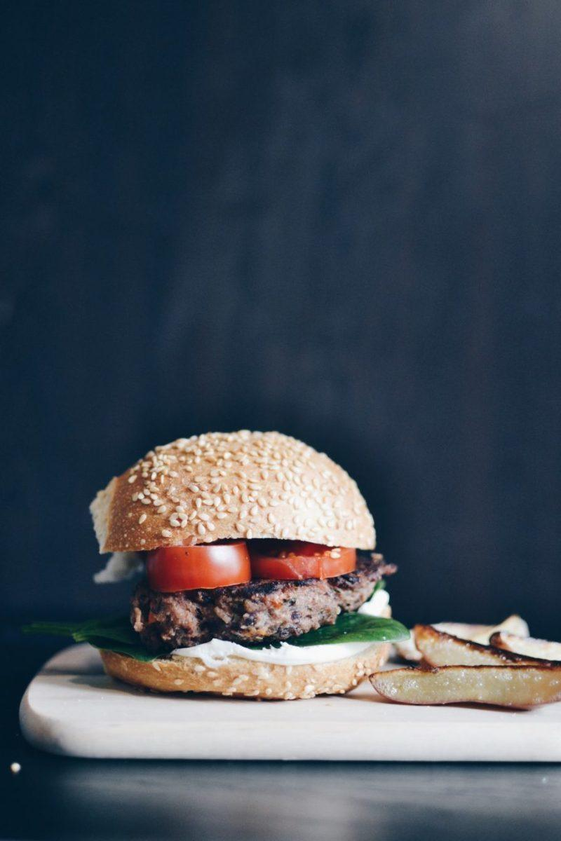 Black bean burgers Recipe | HeyFood — heyfoodapp.com