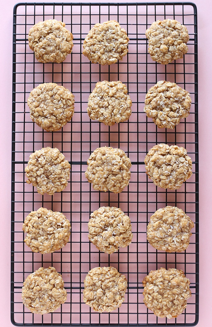 1 Bowl Coconut Oatmeal Cookies  Recipe | HeyFood — heyfoodapp.com