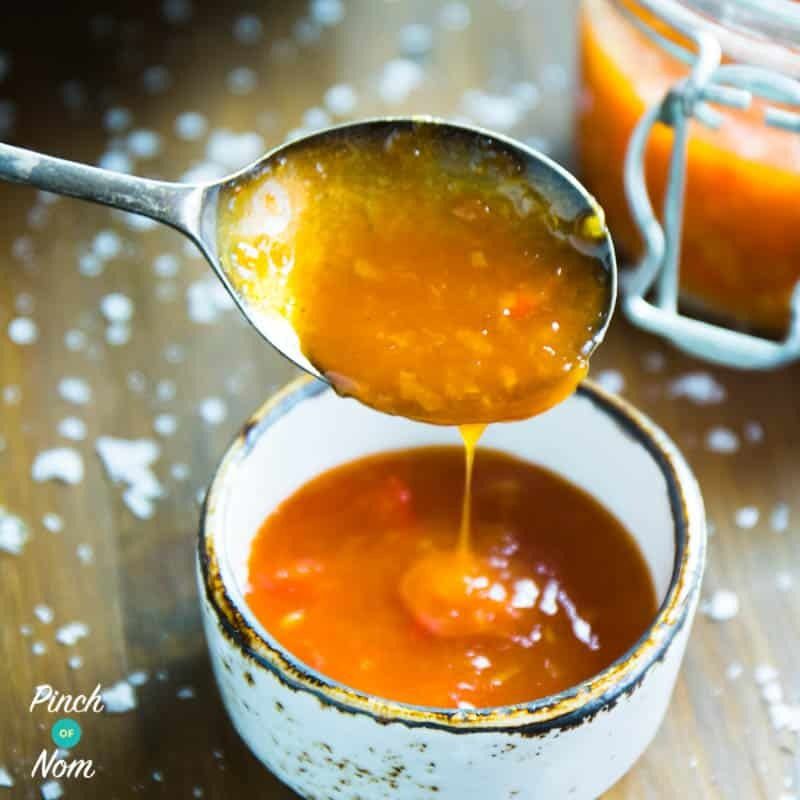 Sweet Chilli Sauce | Slimming & Weight Watchers Friendly Recipe | HeyFood — heyfoodapp.com