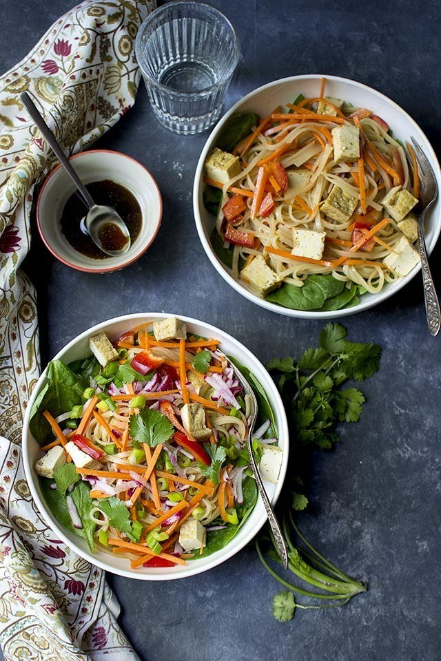 Pad Thai Noodle Salad Recipe | HeyFood — heyfoodapp.com