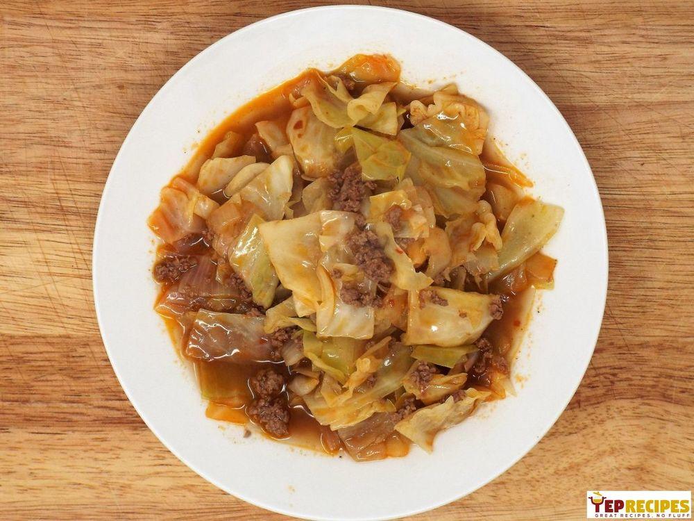 Beef Kapuska (Turkish Cabbage Stew) Recipe | HeyFood — heyfoodapp.com