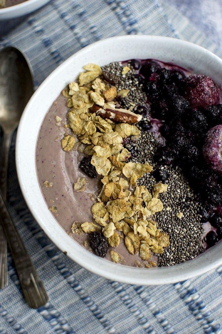 Cherry Berry Smoothie Bowl Recipe | HeyFood — heyfoodapp.com