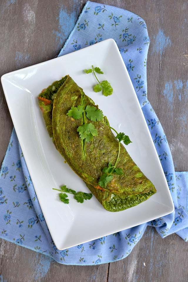 Vegetarian Green Eggs (with Spinach) Recipe | HeyFood — heyfoodapp.com