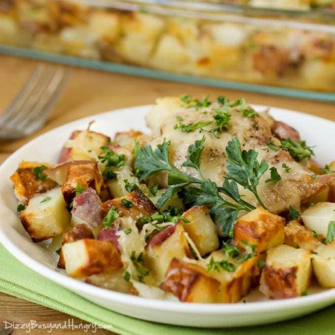Chicken Potato Bake Recipe | HeyFood — heyfoodapp.com