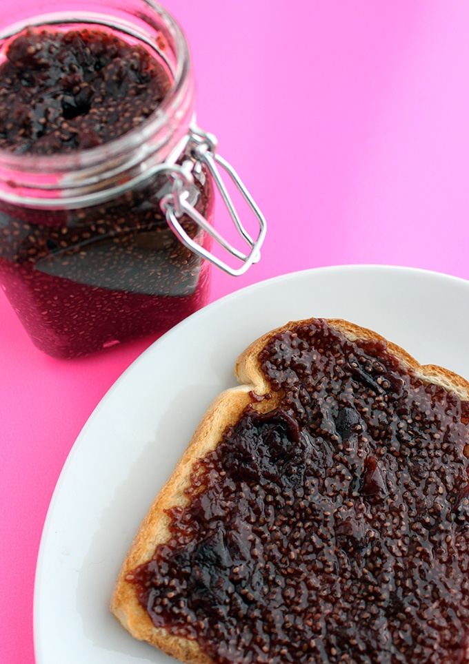 30 Minute Cherry Chia Jam Recipe | HeyFood — heyfoodapp.com
