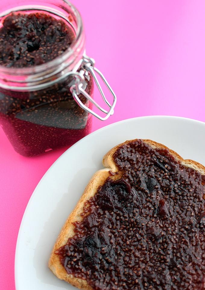 30 Minute Cherry Chia Jam Recipe | HeyFood — heyfoodapp.com