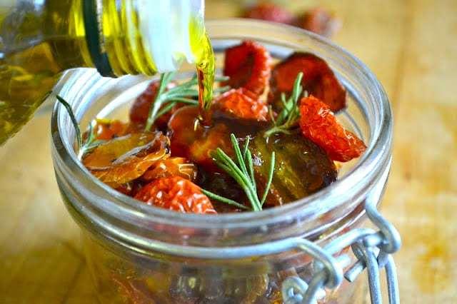 How to Dry Cherry Tomatoes Recipe | HeyFood — heyfoodapp.com