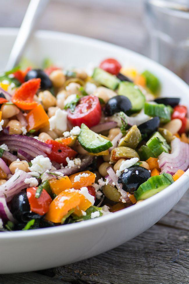 Mediterranean Bean Salad Recipe | HeyFood — heyfoodapp.com