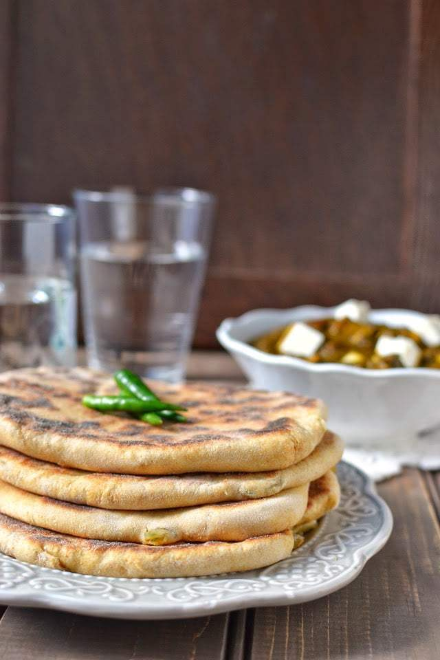 Amritsari Aloo Kulcha (Potato Stuffed Indian Bread) Recipe | HeyFood — heyfoodapp.com